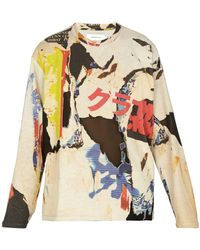 Marques'Almeida - Printed Jersey Sweatshirt - Lyst