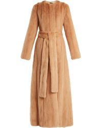 Brock Collection - Freda Mink Fur Coat - Lyst