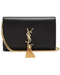 Saint Laurent - Kate Small Smooth-leather Cross-body Bag - Lyst