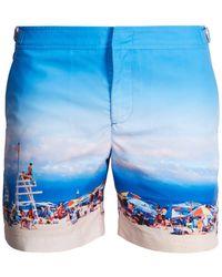 Orlebar Brown - Bulldog Photographic-print Swim Shorts - Lyst