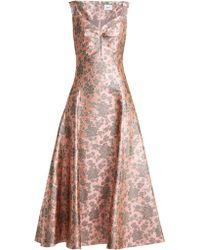 Erdem - Verna Floral Jacquard Gown - Lyst