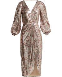 Johanna Ortiz - Alfonsina Storni Sequined Dress - Lyst