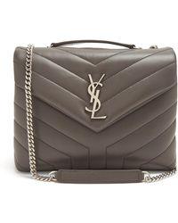 Saint Laurent - Loulou Quilted-leather Shoulder Bag - Lyst