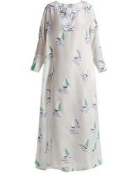 Thierry Colson - Rock The Boat Printed Maxi Dress - Lyst