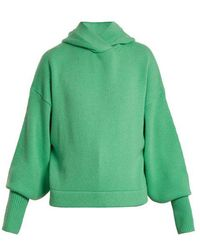 Tibi - Hooded Cashmere Sweater - Lyst