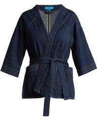 M.i.h Jeans - Farrier Denim Jacket - Lyst
