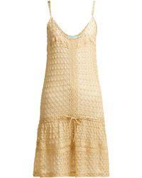 Melissa Odabash - Khloe Crochet Knit Dress - Lyst