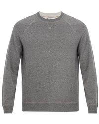 Brunello Cucinelli - Crew-neck Wool Blend Sweater - Lyst