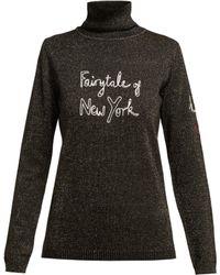 Bella Freud - X Kate Moss Fairytale Of New York Jumper - Lyst