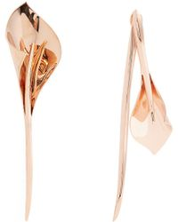 Ryan Storer | Lily Rose-gold Plated Earrings | Lyst