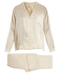 Morpho + Luna - Ines Sandwashed-silk Pyjama Set - Lyst