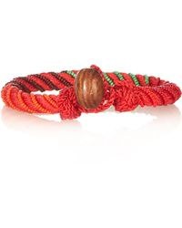 Aurelie Bidermann - Maya Bead Embellished Bracelet - Lyst