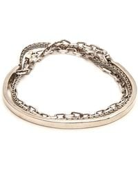 Title Of Work - Sterling-silver Wraparound Bracelet - Lyst