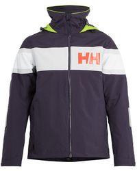 Helly Hansen | Salt Flag Hooded Jacket | Lyst