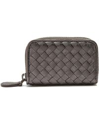 Bottega Veneta | Intrecciato Zip-around Leather Wallet | Lyst