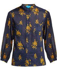 M.i.h Jeans - Lili Floral Cotton Shirt - Lyst