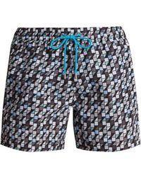 Paul Smith - Geometric-print Swim Shorts - Lyst