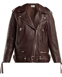 Acne Studios - Leather Jacket - Lyst