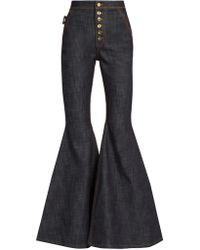 Ellery | Ophelia High-rise Flared Jeans | Lyst