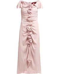 Sies Marjan - Ruffle Flared Dress - Lyst