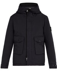 Stone Island - Double-hooded Technical Coat - Lyst