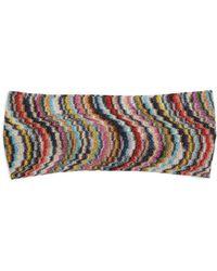 Missoni - Waved Knitted Headband - Lyst