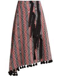 Altuzarra | Basilica Diamond-jacquard Midi Skirt | Lyst