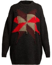 Isabel Marant - Hakari Intarsia-knit Sweater - Lyst