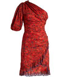 Étoile Isabel Marant - One Shoulder Mini Dress - Lyst