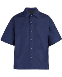 Prada - Short Sleeved Shirt - Lyst
