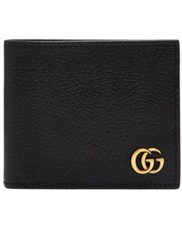 0a58f0e5fba49f Gucci Gg Marmont Grained-leather Coin Purse in Brown for Men - Lyst
