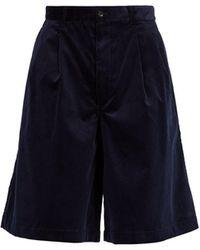 Comme des Garçons - Wide-leg Corduroy Shorts - Lyst