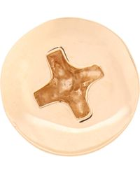 Alison Lou - Yellow-gold Screw Head Earring - Lyst