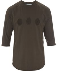 By Walid | Embroidered Cotton Baseball T-shirt | Lyst