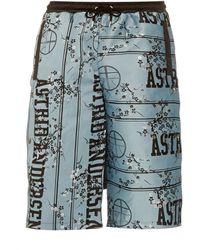 Astrid Andersen - Blossom-jacquard Shorts - Lyst