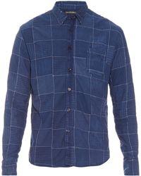 Longjourney - Vintage Patchwork Shirt - Lyst