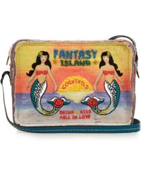 Sarah's Bag - Fantasy Island Bead-embellished Cross-body Bag - Lyst