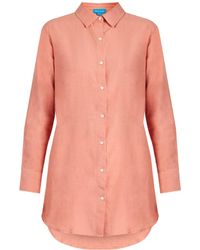 M.i.h Jeans - Oversized Linen-blend Shirt - Lyst