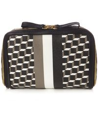 Pierre Hardy - Cube-print Coated-canvas Cosmetics Case - Lyst