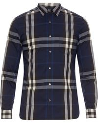 Burberry Brit - Long-sleeved House-check Shirt - Lyst