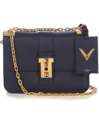 Valentino - B-rockstud Leather Shoulder Bag - Lyst