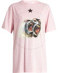 Givenchy - Screaming Monkey Short-sleeved T-shirt - Lyst