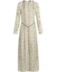 CALVIN KLEIN 205W39NYC - Hita Printed Satin-twill Maxi Dress - Lyst