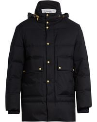 Moncler Gamme Bleu - Quilted-down Coat - Lyst