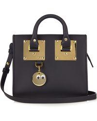 Sophie Hulme - Mini Albion Box Leather Cross-body Bag - Lyst