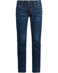 Kuro - Graphite Straight-leg Jeans - Lyst