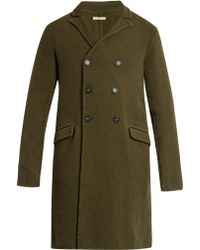 Massimo Alba - Double-breasted Wool Coat - Lyst