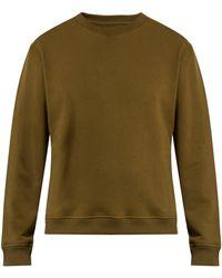 Fanmail - Crew-neck Organic-cotton Jersey Sweatshirt - Lyst