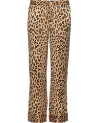 Equipment - X Kate Moss Avery Silk Trousers - Lyst
