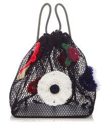 Christopher Kane - Crochet-flower Net Backpack - Lyst